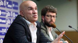Luis César, durante una rueda de Prensa.