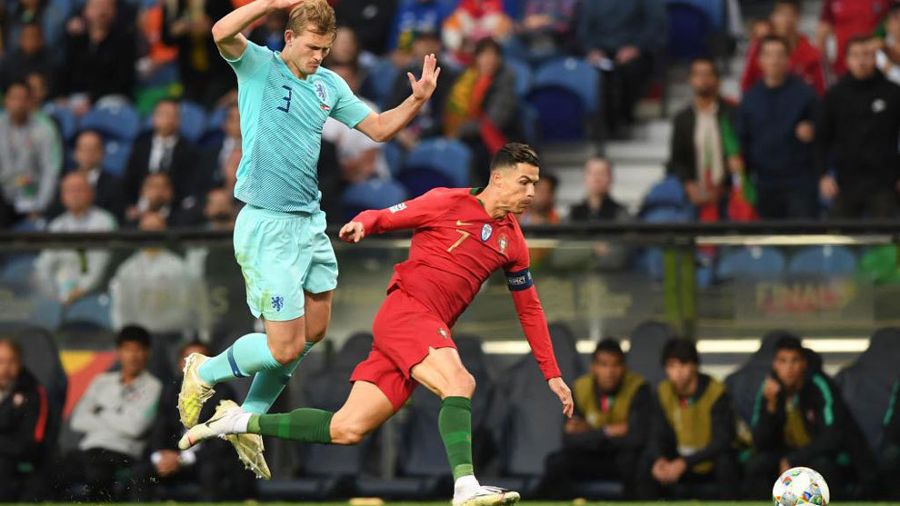 Cristiano Ronaldo: Matthijs de Ligt left 'shocked' by what Portugal