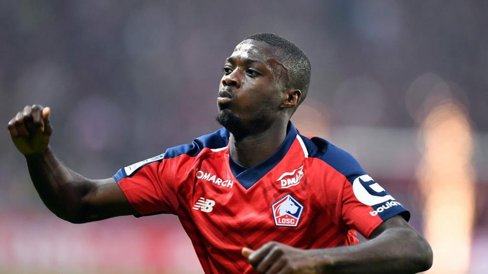 Nicolas Pepe is wanted by Liverpool.