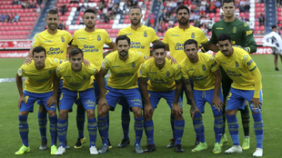 Último once las Palmas en Segunda esta temporada.