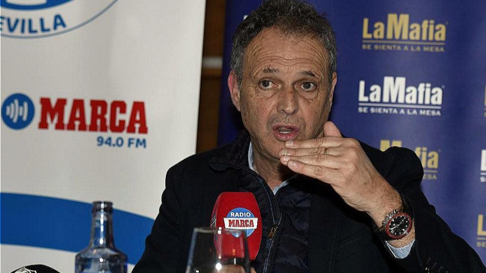 Joaquín Caparrós durante una entrevista con Radio MARCA