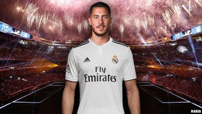 Eden Hazard: presentación galáctica con el objetivo de superar la de Cristiano