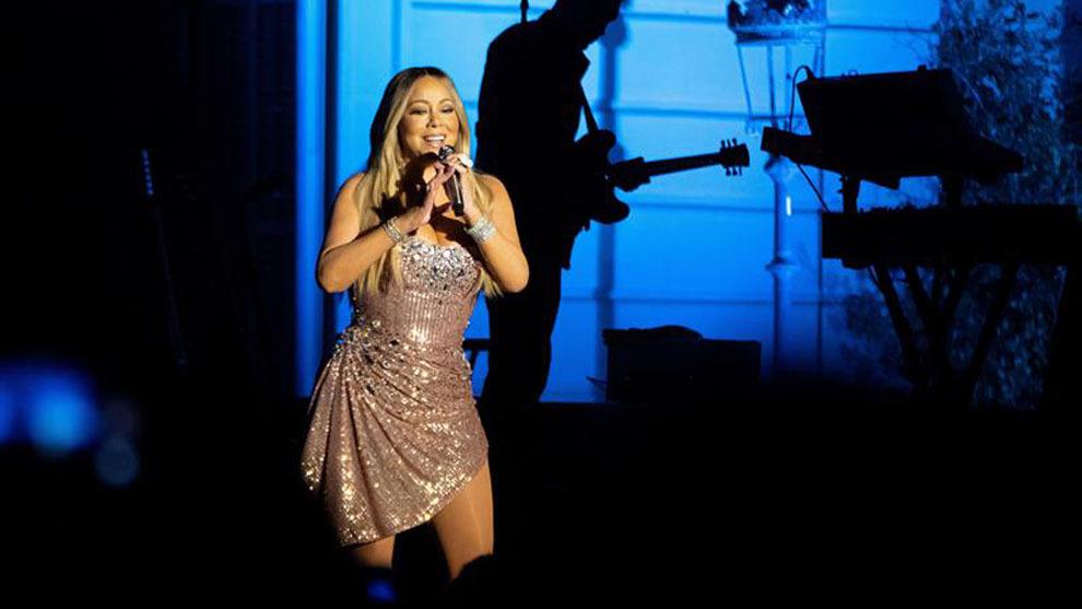 Noche de lujo con una poderosa Mariah Carey en los Jardines de...