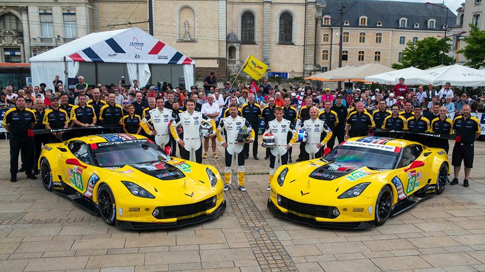 El equipo Corvette cumple 20 años en Le Mans.