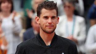 Dominic Thiem, en la final de Roland Garros.