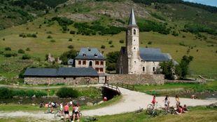 Montgarri se convierte en parada obligatoria de ciclistas y...