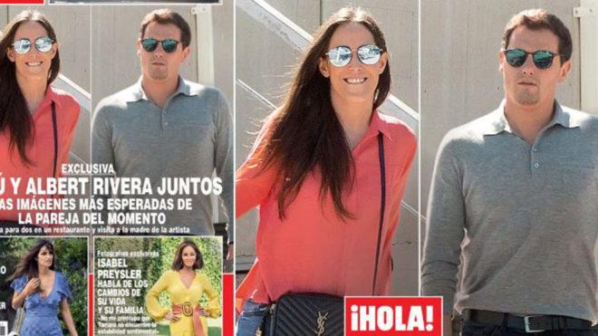 Exclusiva en ¡HOLA!, Malu y Albert Rivera juntos
