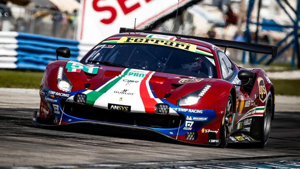 El Ferrari 488 GTE Evo #71