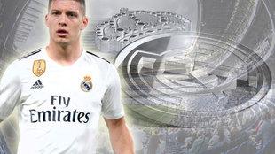 Presentacion de Luka Jovic con el Real Madrid