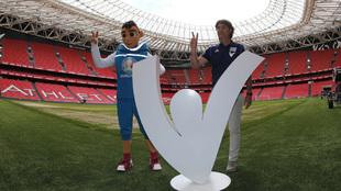 Presentación de San Mamés como sede para la Eurocopa 2020.