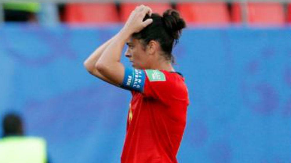 Marta, tras perder ante Alemania.