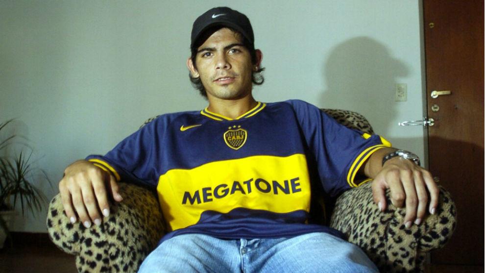 Éver Banega (30), durante su etapa en Boca Juniors.