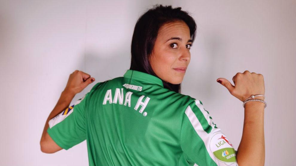Ana Hernández, nueva jugadora del Betis Féminas