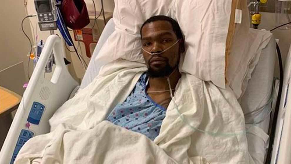 Durant desde el hospital donde fue operado