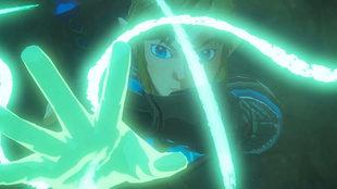 Link y Zelda investigan una zona oscura que podría pertenecer a las...