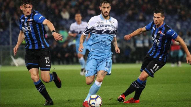 Luis Alberto, en un partido ante el Atalanta.