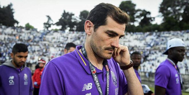 Casillas, en la final de la Copa de Portugal.