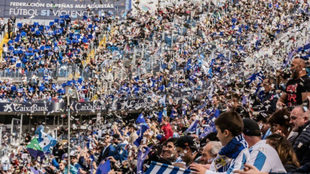 Afición del Málaga CF