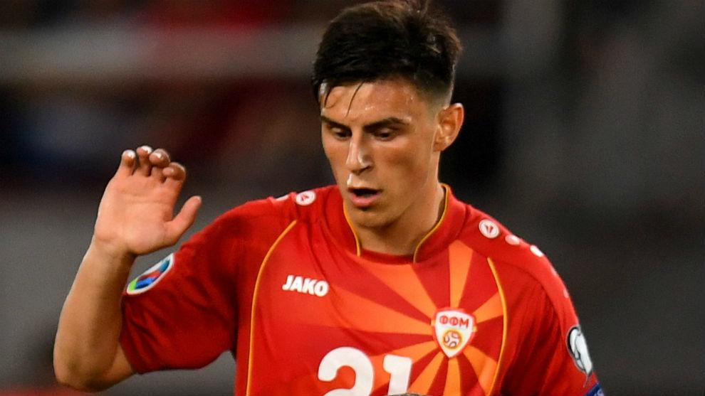 Eljif Elmas (19), centrocampista macedonio del Fenerbahçe.