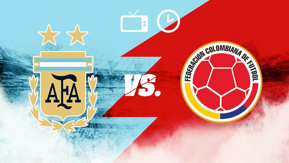 Argentina vs Colombia, horario y dónde ver