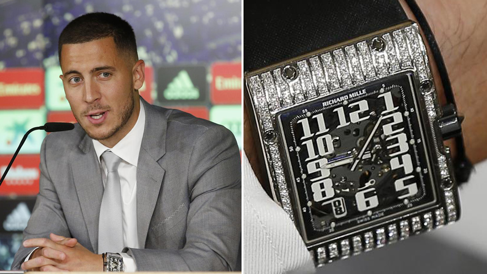 Hazard and his watch.