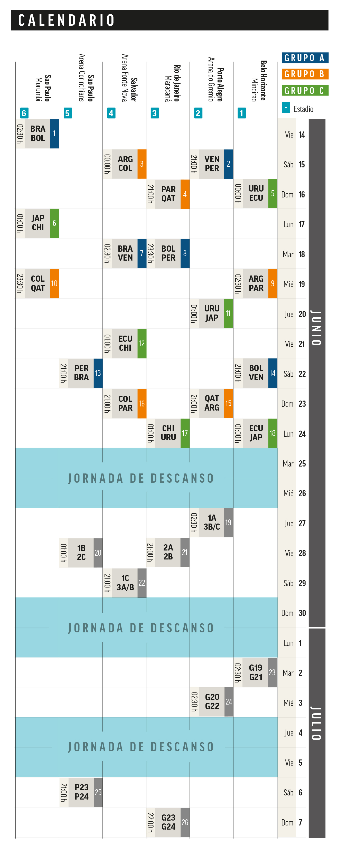 Calendario Coppa America.Messi And Argentina Go After Copa America Glory Haunted By