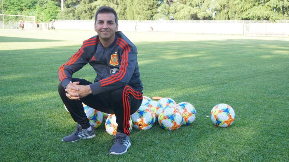 Francis Hernández, coordinador de las categorías inferiores de la...
