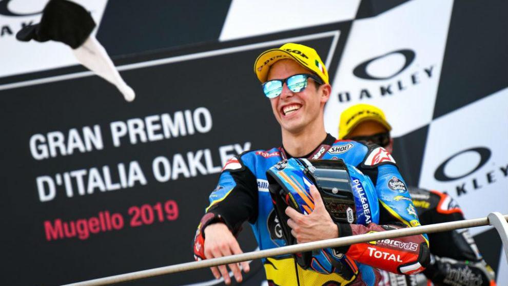 Álex Márquez, ganador en el pasado Gran Premio de Italia.