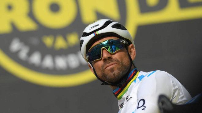 Alejandro Valverde, en el pasado Tour de Flandes.