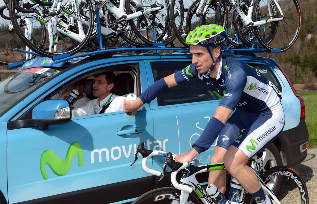 Tour de Romandie 2012 - Giro di Romandia - 2a tappa Montb - Moutier 149.1 km - 26/04/2012 - Juan Jose <HIT>Cobo</HIT> (Movistar) - Graham Watson/BettiniPhoto©2012