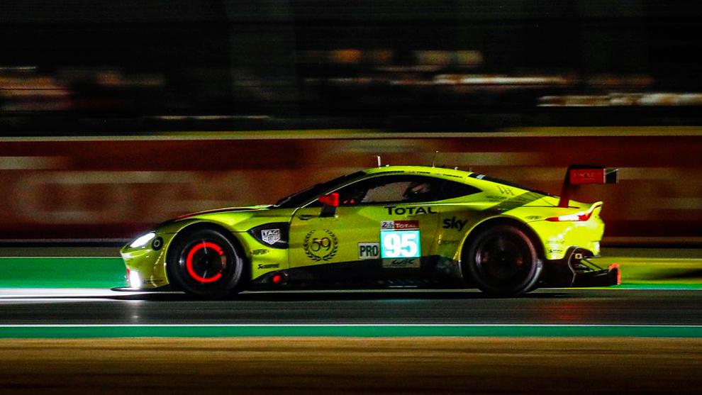 Aston Martin se llevó la pole en LMGTE Pro.