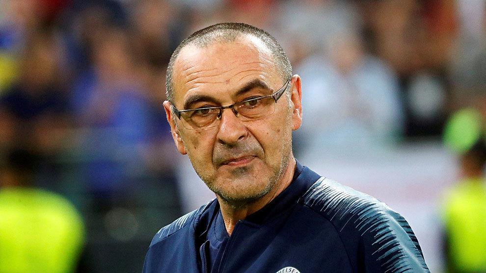 Maurizio Sarri, nuevo entrenador de la Juventus — Oficial