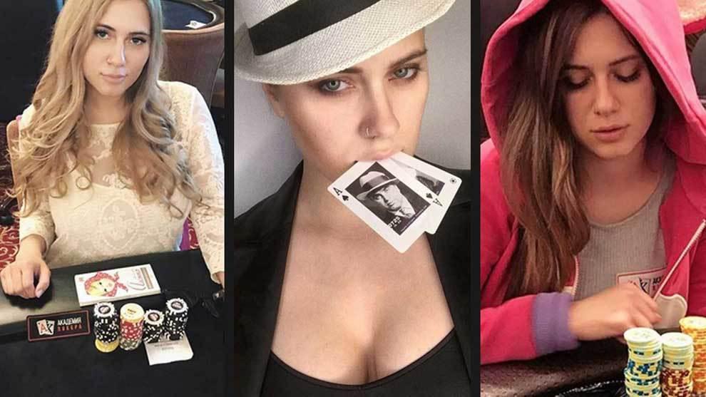 Liliya Novikova, famosa jugadora de póker bautizada en Rusia por...