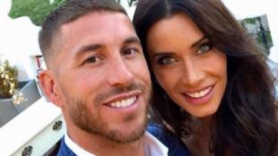 Sergio Ramos with Pilar Rubio