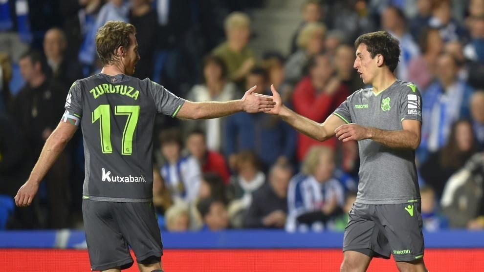 Zurutuza y Oyarzabal ya conocen otro rival de la próxima...