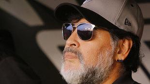 Diego Maradona se despidió con buenos números de Dorados