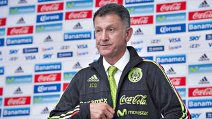 Osorio se dijo agradecido por dirigir al Tri.