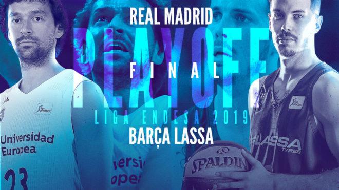 Finales ACB 2019: Real Madrid vs Barcelona horarios, fechas y dónde...