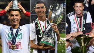 Cristiano Ronaldo y sus conquistas de esta temporada.
