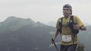 Pau Capell, en carrera.