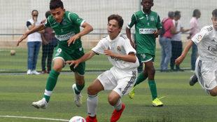 Leganés y Real Madrid se midieron en las semifinales del torneo.