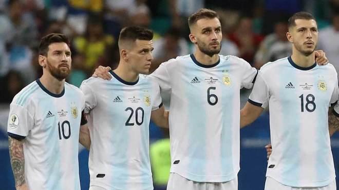 Rodríguez y Messi arrancaron de titulares.