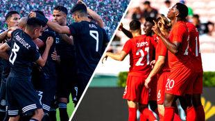 México y Canadá golearon en la primera ronda.