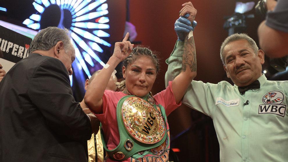 La 'Barby' Juárez celebra su triunfo