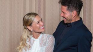 Simeone y Carla Pereyra se han casado en una boda civil en Buenos...
