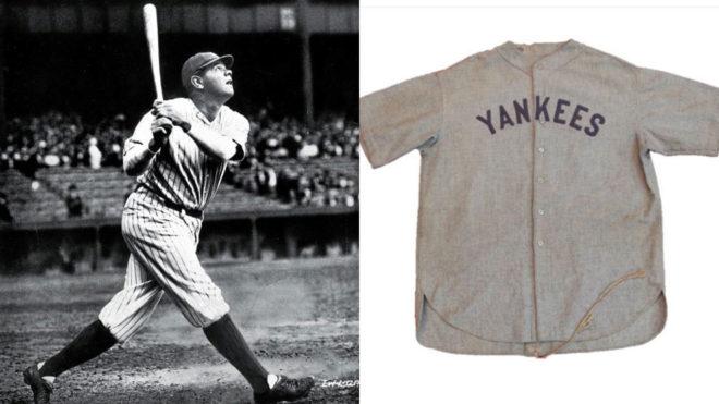 Camiseta de Babe Ruth alcanzó 5 millones de dólares en subasta