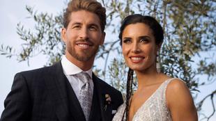 Sergio Ramos and Pilar Rubio