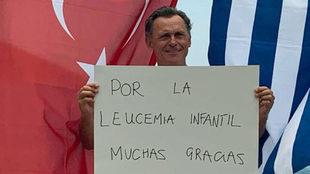 Jacobo Parages, tras lograr su gesta.