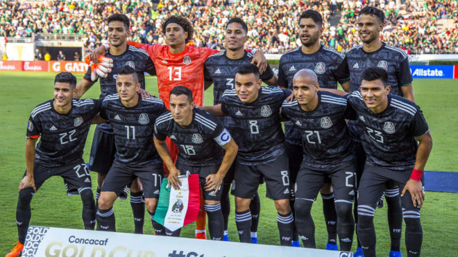 México se toma la fotografía antes de enfrentar a Cuba.