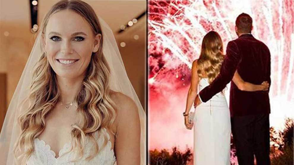 Tennis star Caroline Wozniacki ties the knot with two-time NBA...